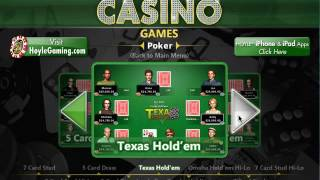 Poker Games - Hoyle Casino