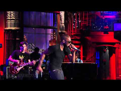 Tinie Tempah – Written In The Stars (Live on Letterman)