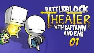 PODAJ RĄCZKĘ DEKLU - Zagrajmy w: BattleBlock Theater Coop #1 w/ Kaftann & Emi