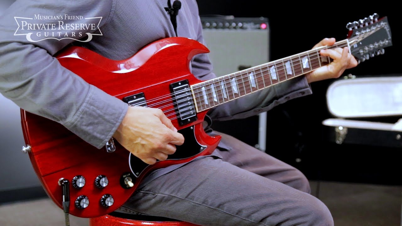 Gibson Limited Run Neck Through 12 String Sg Electric Guitar