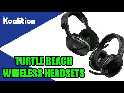 Turtle Beach Stealth 600 700 Wireless Headset Unboxing And