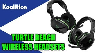Turtle Beach Stealth 600 & 700 Wireless Headset Unboxing and Impressions - The Koalition