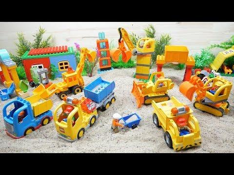 Repeat Lego Duplo Spielzeug Unboxing Kinderfilm Feuerwehrauto