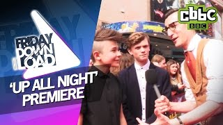 Bars and Melody, The Vamps and Friday Download at the Up All Night film premiere