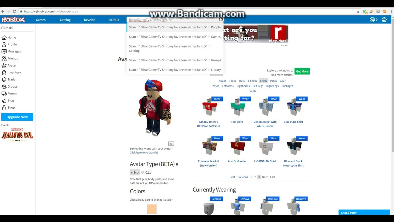 Roblox Whats in my inventory?