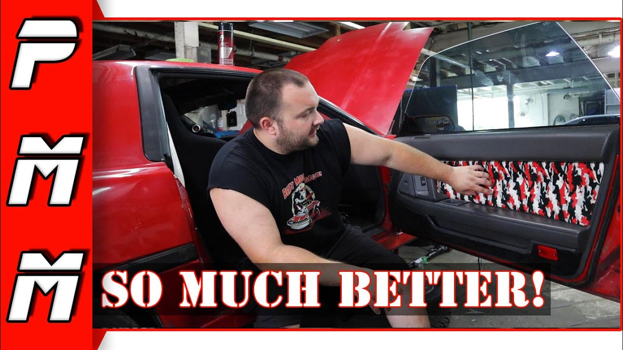 How to make your door panels look awesome for cheap!