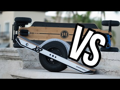 Onewheel XR Vs Evolve Bamboo GTR. Which One Is Right For You?
