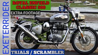 ROYAL ENFIELD CLASSIC 500 SCRAMBLER/ / EXTRA FOOTAGE AND MEET UPS