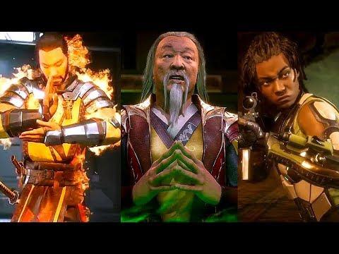 Mortal Kombat 11 - New Story Cutscenes, Shang Tsung & Noob Saibot Gameplay (MK11)
