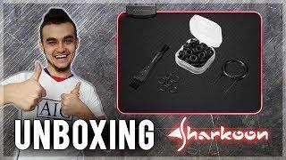 "Unboxing Podkładki 1337 RGB i Testy Wyciszaczy ""Noise Silencer"" od Sharkoona!!!"