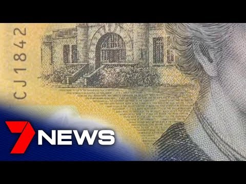 $20 Billion Worth Of New $50 Notes Have A Misspelled Quote | 7NEWS