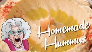 Homemade Hummus Recipe - Mrs Ruby Tips - Easy Hummus Recipe Ever!