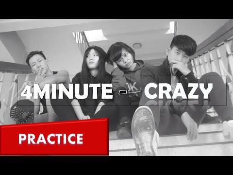 4MINUTE - Crazy미쳐  Dance Practice  BKAV