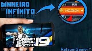 SAIU!! DREAM LEAGUE SOCCER 19 COM DINHEIRO INFINITO ANDROID (ATUALIZADO)