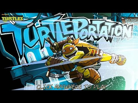 Nickelodeon Games - Turtleportation (Walkthrough, Gameplay)