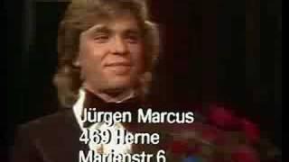 Jürgen Marcus - Grand Prix D` Amour 1974