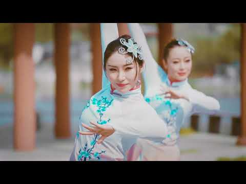 Graceful Chinese Dance【13】《山外小楼夜听雨》Mountain night listening to the rain