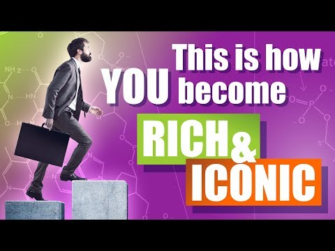 How to start up a biotech company? This is how you become Rich and Iconic