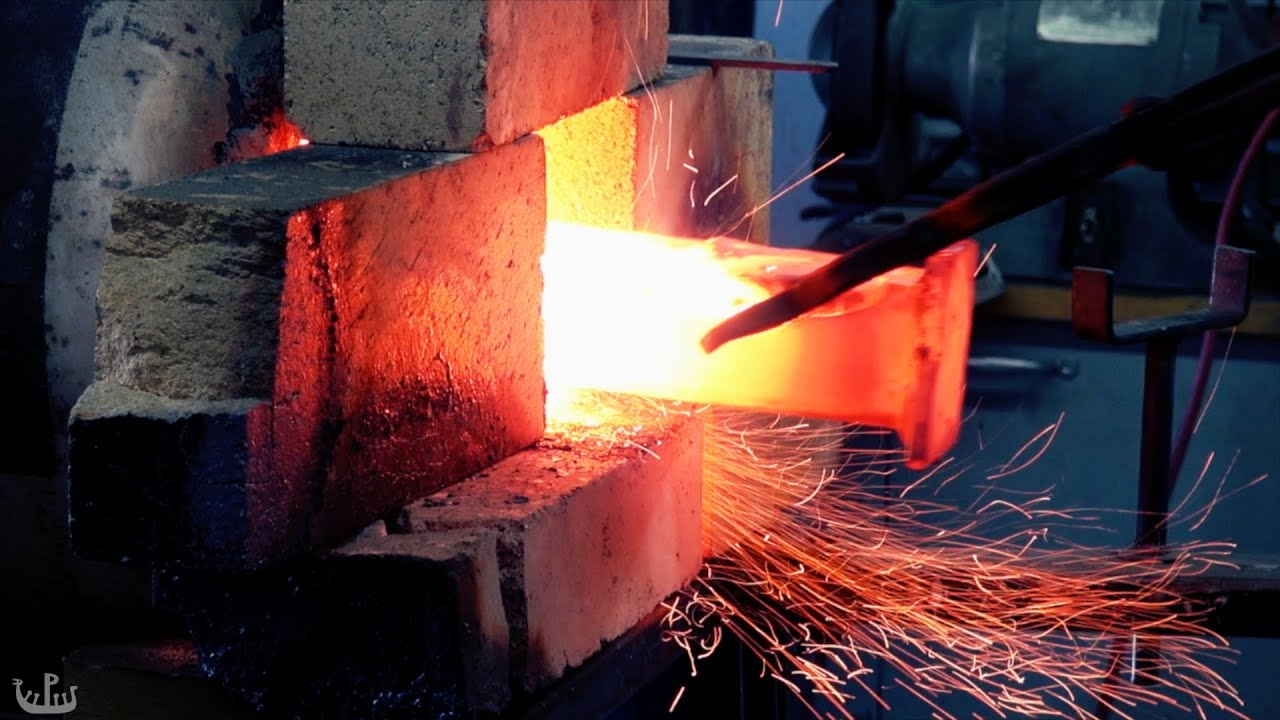 Refining and Carburizing Wrought Iron (Forge Diaries: Ep ...