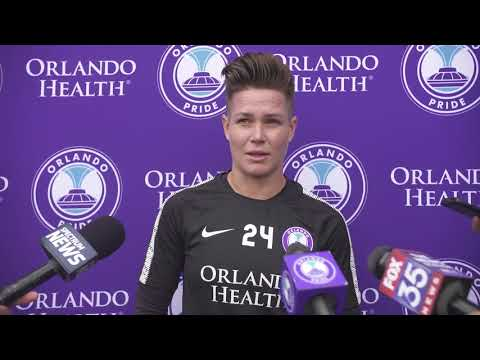 Ashlyn Harris | Pre-Training Interview | Orlando Pride