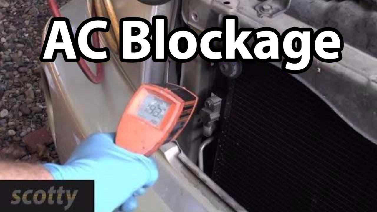 Finding And Fixing AC System Blockages  YouTube