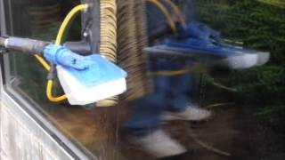 How Professional Window Cleaners remove Hard-Water