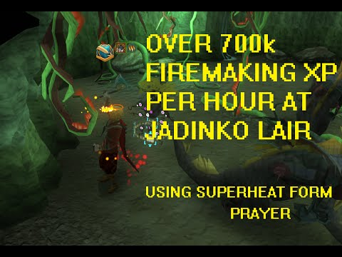 RS] Jadinko Lair Firemaking - 700k+ firemaking XP per HOUR for ...