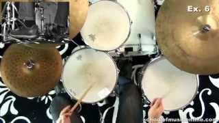Swing Drumming - Advanced Snare & Kick Combinations
