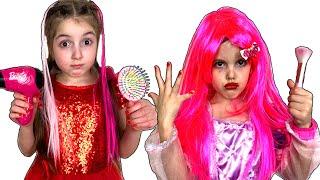 Masha and Vania Play Going to Princess Ball
