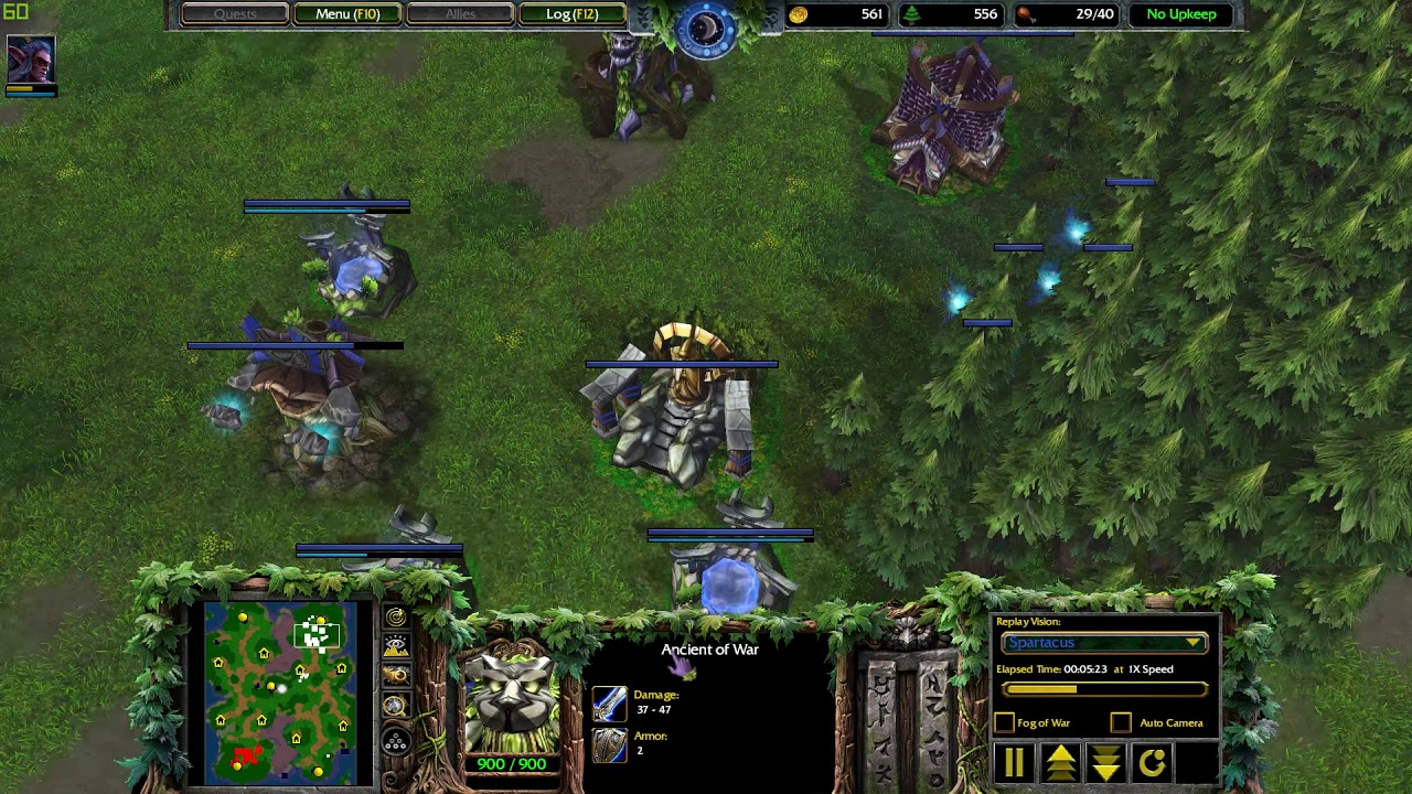 Warcraft III Quenching Mod Classic Reforged MOD, its classic but looks better Version 1.4