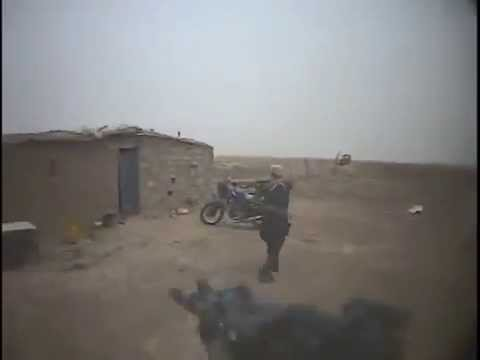 Special Forces HELMET CAM Up Close and Personal Afghanistan