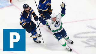 Horvat says Vancouver Canucks stuck to plan in Game 2 win over St. Louis Blues | The Province