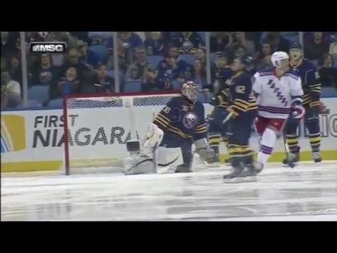 New York Rangers Score 5 Goals In 178 Seconds 4/19/13 [Against Sabres]