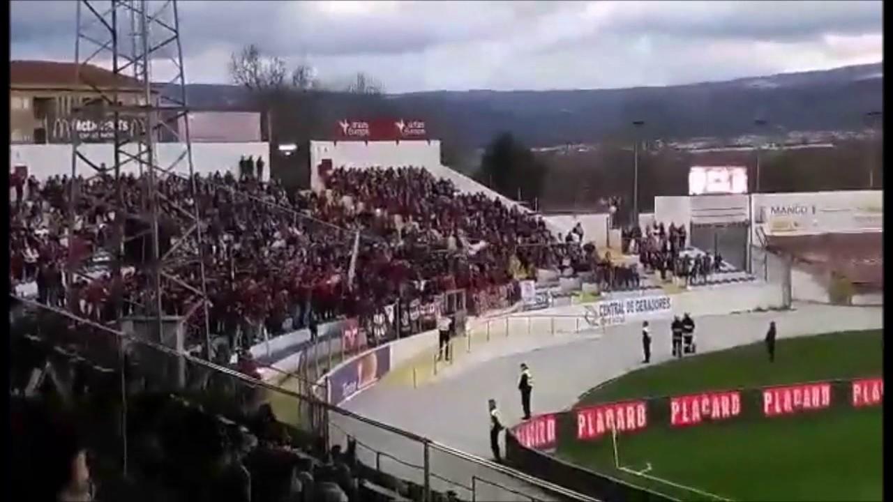Braga Chaves: Ultras Braga On Tour Chaves (Chaves 0-0 Braga 11/03/2017