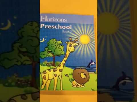 Detailed Review of Horizons (Pre-School) Curriculum for 4 year Olds