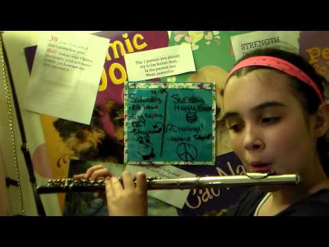The Eye Of The Tiger On The Flute!!!
