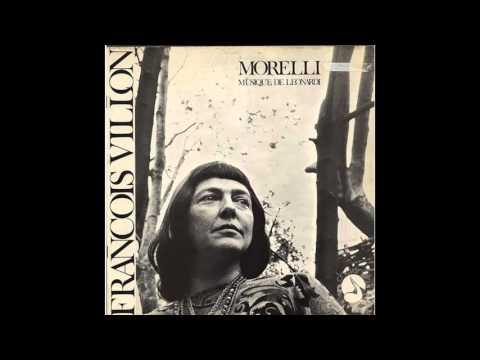 monique morelli chante francois villon (vynil) complet