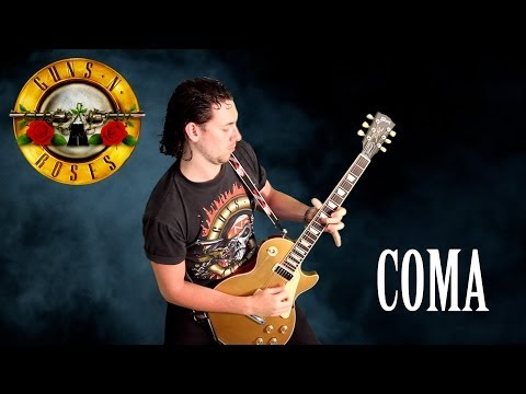 Guns N' Roses - Coma - *INSTRUMENTAL COVER* performed by Karl Golden