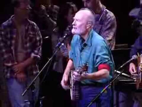 "Pete Seeger Performs ""Hobo's Lullaby"" Live in 1996"