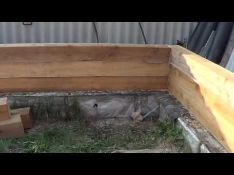 Баня из бруса своими руками 1 смотреть видео онлайн