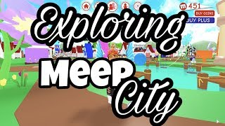 EXPLORING THE NEW SCHOOL IN MEEPCITY | MeepCity | Roblox