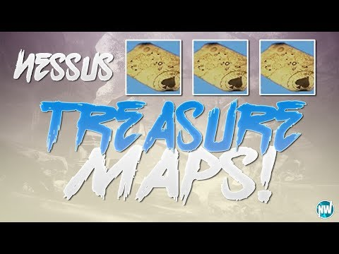 Destiny 2 ALL NESSUS TREASURE MAP LOCATIONS ! How to Find Cayde's Nessus Treasure Chests !