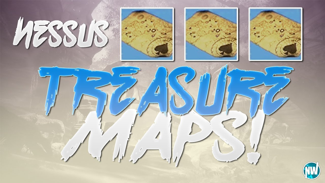 Destiny 2 ALL NESSUS TREASURE MAP LOCATIONS How To Find