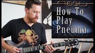 Tool Pneuma Guitar Tutorial