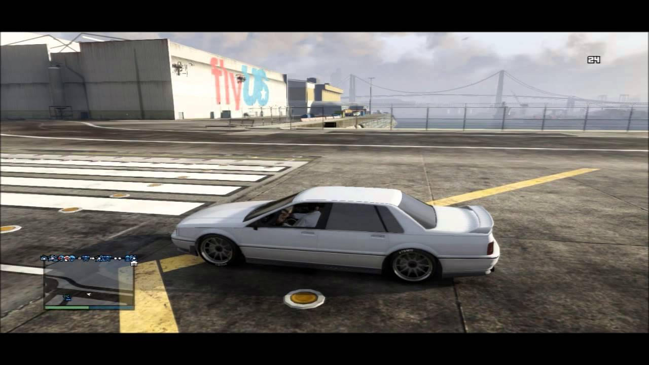 Gta Online Custom Albany Primo Sedan Youtube