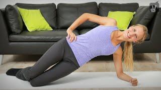 Rückbildung mit Christina Miller: Pilates Workout 1/4