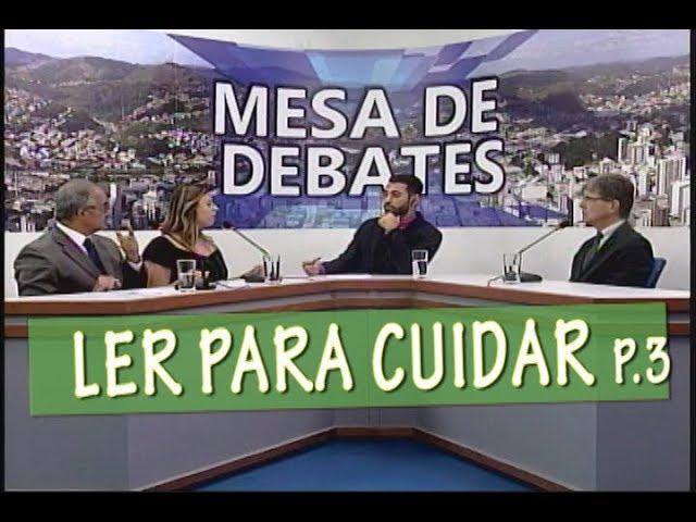 A BIBLIOTERAPIA NO TRATAMENTO DE MULHERES VÍTIMAS DE VIOLÊNCIA - MESA DE DEBATES 22/04 PARTE3