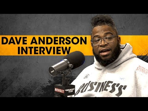 Dave Anderson Discusses The 'Black Boys Win' Initiative, Entrepreneurship + More