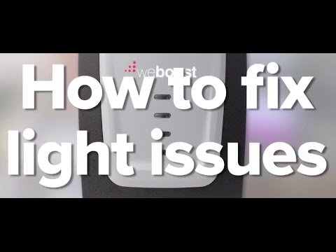 Cell Phone Signal Booster/ Amplifier Lights Issues And How To Fix Them