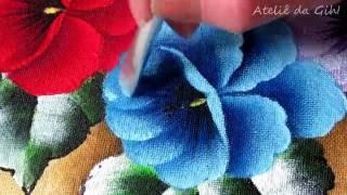 Amor perfeito azul – Blue Pansy – flor azul del pensamiento
